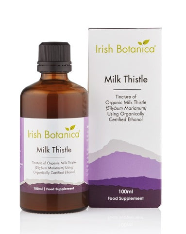 Irish Botanica Milk Thistle 100ml - dolanschemist.ie