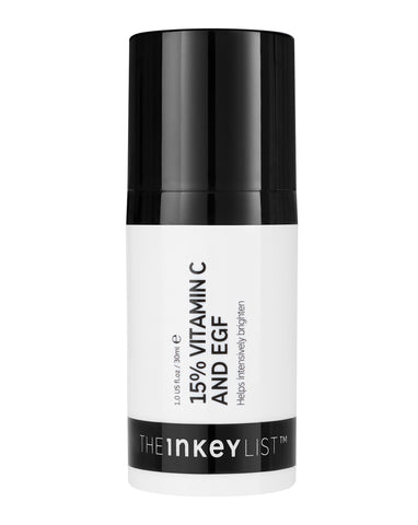 The Inkey List 15% Vitamin C and EGF Serum - dolanschemist.ie