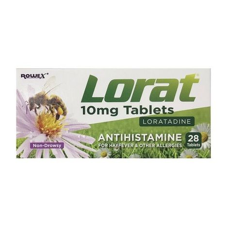 Lorat 10mg Tablets 28 Pack