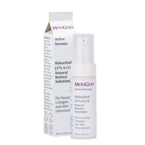 MooGoo Bakuchiol 1% Natural Retinol Substitute Active Serum 25ml - dolanschemist.ie