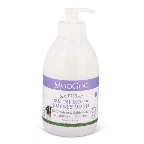 MooGoo Natural Mini Moo Bubbly Wash