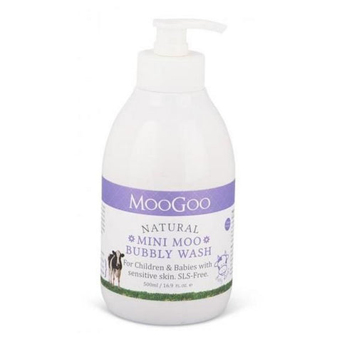 MooGoo Natural Mini Moo Bubbly Wash - dolanschemist.ie