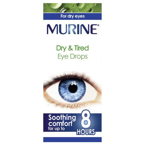 Murine Dry & Tired Eye Drops 15ml - dolanschemist.ie