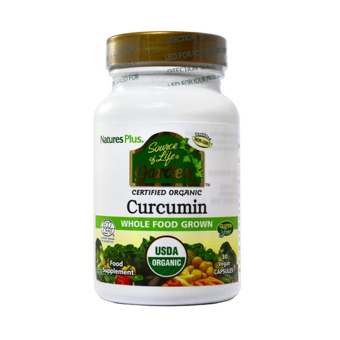 Natures Plus Source of Life Garden Curcumin (30) - dolanschemist.ie