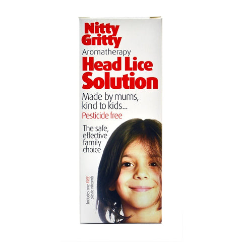 Nitty Gritty Aromatherapy Head Lice Solution - dolanschemist.ie