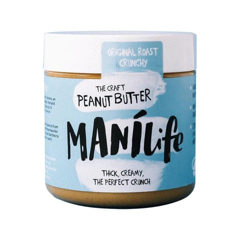 Manilife Craft Peanut Butter-Orginal Roast Crunchy 295g - dolanschemist.ie