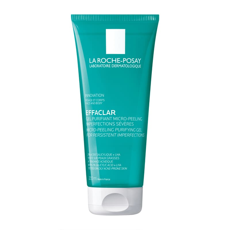 La Roche-Posay Effaclar Micro-Peeling Purifying Gel for Persistent Imperfections 200ml