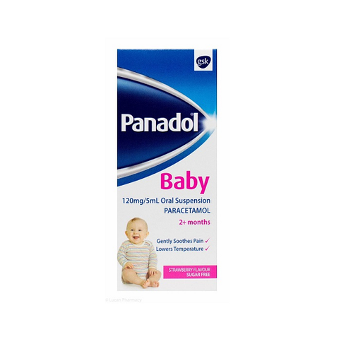 Panadol Baby Strawberrry 100ml - dolanschemist.ie