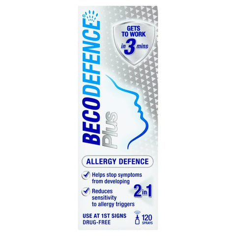 Becodefense Plus Allergy Adult Nasal Spray 20ml - dolanschemist.ie