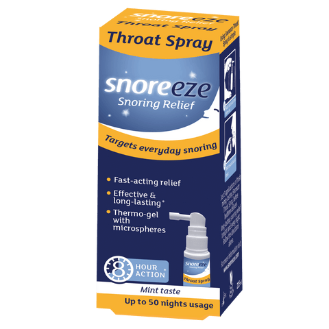 Snoreeze Snoring Relief Throat Spray 23.5ml - dolanschemist.ie
