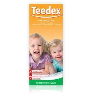 Teedex Oral Solution 100ml - dolanschemist.ie