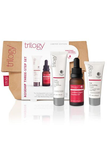 Trilogy Rosehip Three-Step Set - dolanschemist.ie