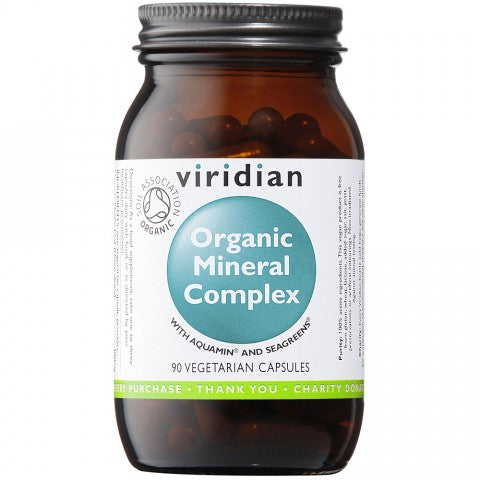 Viridian Organic Mineral Complex 90 Veg Capsules