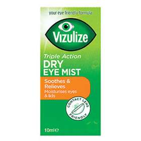 Vizulize Triple Action Dry Eye Mist 10ml - dolanschemist.ie