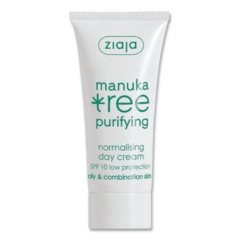 Ziaja Manuka Tree Normalising Day Cream 50ml - dolanschemist.ie