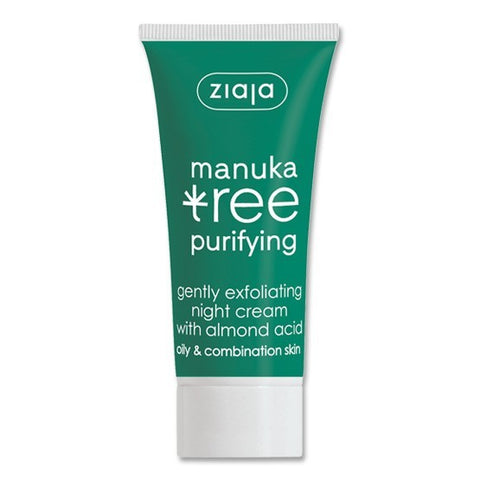 Ziaja Manuka Tree Night Cream 50ml - dolanschemist.ie
