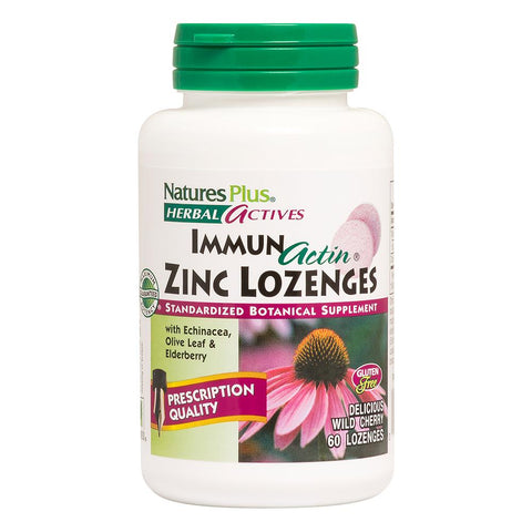 Natures Plus Zinc Lozenges - dolanschemist.ie
