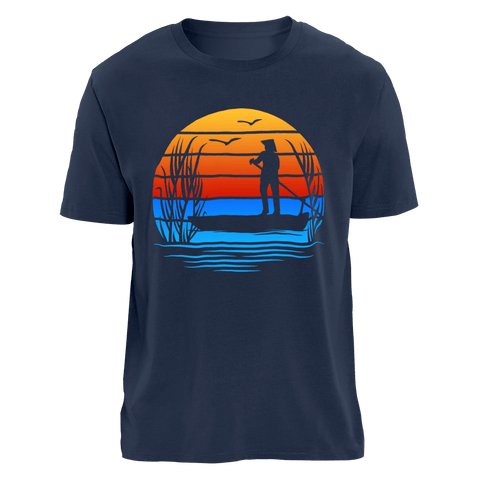 RED SUNSET - Việt Nam | Organic T-Shirt | Herren
