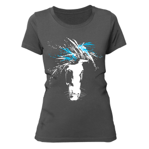 just WILD (blue) | Organic T-Shirt | Damen