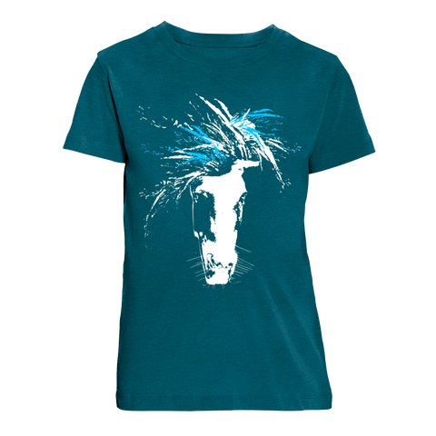just WILD (blue) | Organic T-Shirt | Kids