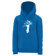 Laden Sie das Bild in den Galerie-Viewer, just WILD (blue) | Organic Hoodie | Kids