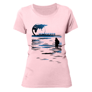 LONESOME WANDERER | Organic T-Shirt | Damen