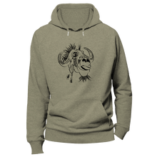 Laden Sie das Bild in den Galerie-Viewer, UNLEASH THE BUFFALO WITHIN | Organic Hoodie | Herren