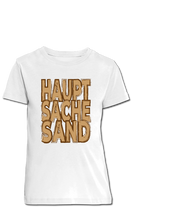 Laden Sie das Bild in den Galerie-Viewer, HAUPTSACHE SAND | Bio-Shirt | Kids