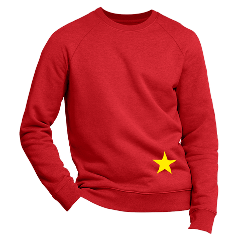just A STAR | Organic Sweatshirt | Herren
