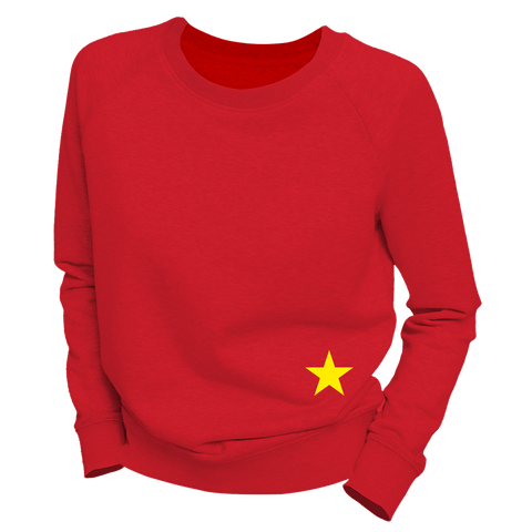 just A STAR | Organic Sweatshirt | Damen