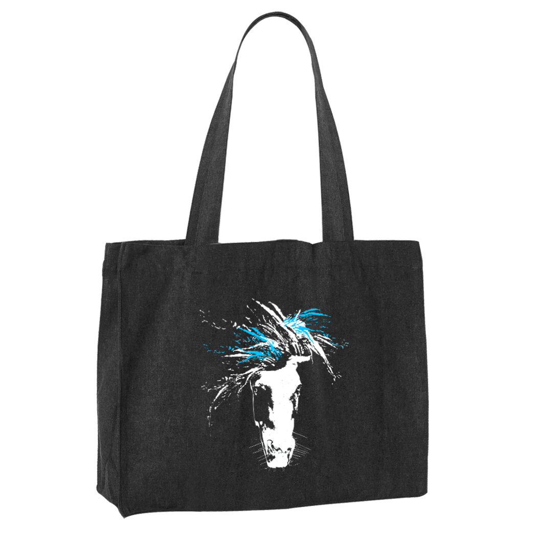 just WILD (blue) | Shopping Bag