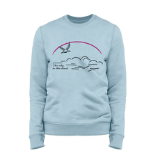Laden Sie das Bild in den Galerie-Viewer, The sky is the limit | Organic Sweatshirt | Damen