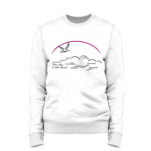 The sky is the limit | Organic Sweatshirt | Damen