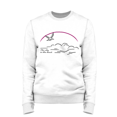 THE SKY IS THE LIMIT | Organic Sweatshirt | Unisex
