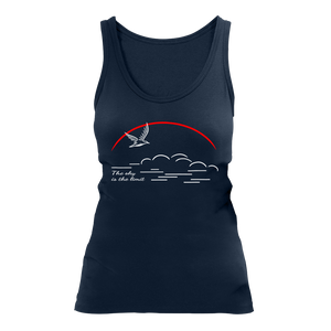 The sky is the limit | Organic Tanktop | Damen