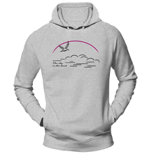 Laden Sie das Bild in den Galerie-Viewer, The sky is the limit | Organic Kapuzensweatshirt | Herren