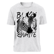 Laden Sie das Bild in den Galerie-Viewer, STRIPES - BLACK & WHITE | Organic T-Shirt | Herren