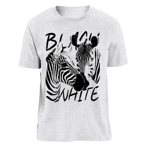 STRIPES - BLACK & WHITE | Organic T-Shirt | Herren