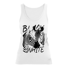 Laden Sie das Bild in den Galerie-Viewer, STRIPES - BLACK & WHITE | Organic Tanktop | Damen