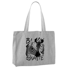 STRIPES - BLACK & WHITE | Shopping Bag