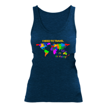 Laden Sie das Bild in den Galerie-Viewer, I NEED TO TRAVEL | Organic Tanktop | Damen