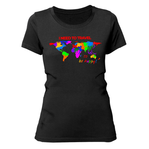 I NEED TO TRAVEL | Organic T-Shirt | Damen