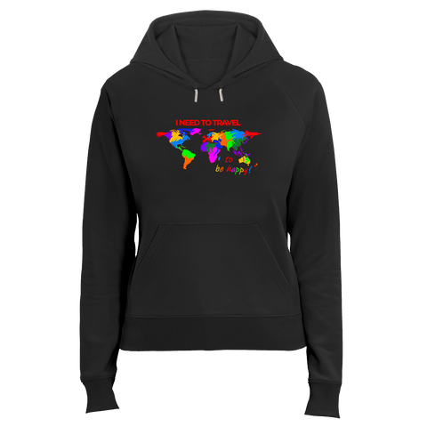 I NEED TO TRAVEL | Organic Hoodie | Damen