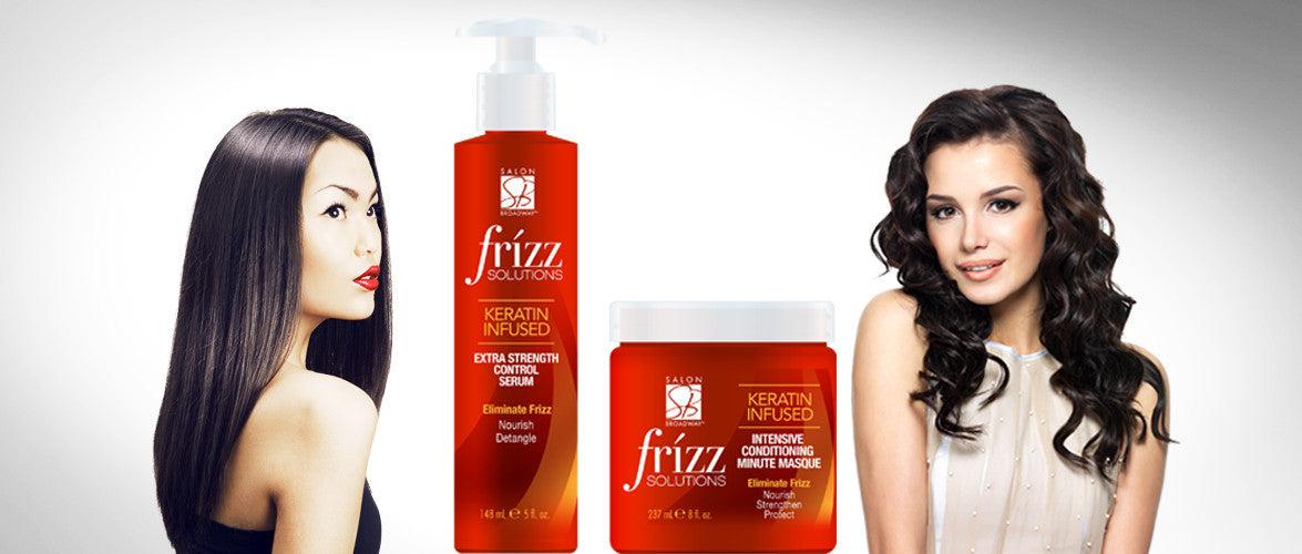 frizz solution hair care products