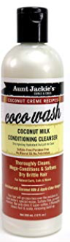 Aunt Jackies Coconut Milk Conditioning Cleanser - Sabina Hair Cosmetics