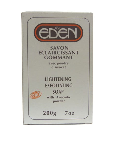 Eden Lightening Exfoliating Soap With Avocado Soap