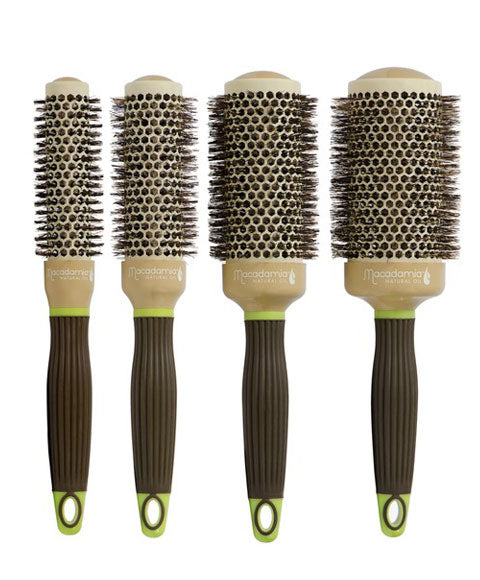 Natural Oil Hot Curling Brush