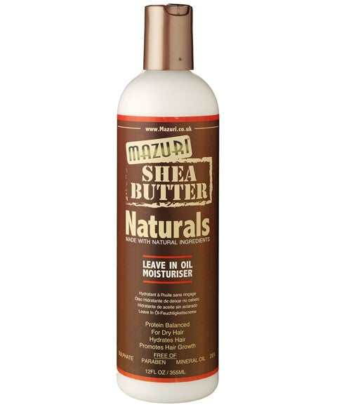 Shea Butter Naturals Leave In Oil Moisturizer