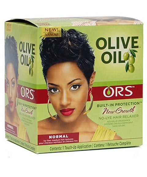 Olive Oil New Growth No Lye Relaxer