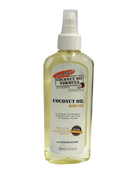 Coconut Oil Formula Body Oil